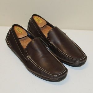 Rockport Men size 12 M Leather Upper Slip on